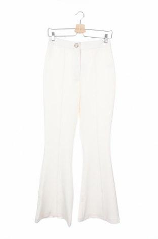 Дамски панталон River Island, Размер S, Цвят Бял, 93% полиестер, 7% еластан, Цена 41,60лв.