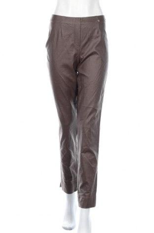 Дамски панталон Robell, Размер M, Цвят Сив, 77% вискоза, 20% полиамид, 3% еластан, Цена 7,61лв.