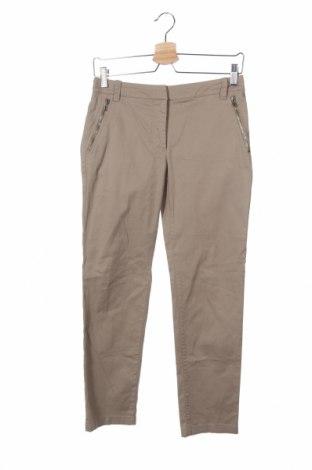 Дамски панталон Sportmax, Размер XS, Цвят Бежов, 97% памук, 3% еластан, Цена 32,80лв.