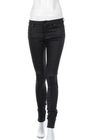 Дамски панталон Witchery, Размер XS, Цвят Черен, 66% памук, 30% полиестер, 4% еластан, Цена 49,14лв.