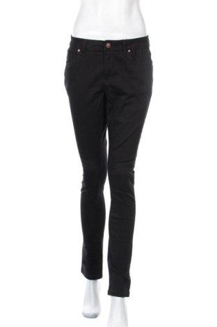 Дамски панталон Woman By Tchibo, Размер M, Цвят Черен, 98% памук, 2% еластан, Цена 9,92лв.