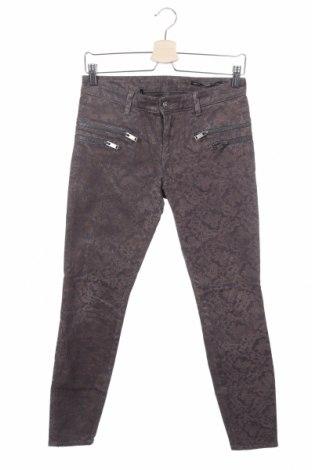 Дамски панталон Zara, Размер XS, Цвят Сив, Цена 8,14лв.