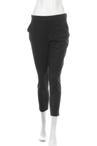 Дамски панталон Zara Trafaluc, Размер M, Цвят Черен, 62% полиестер, 33% вискоза, 5% еластан, Цена 25,50лв.