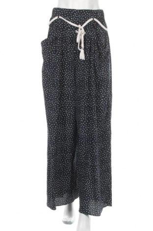 Дамски панталон Zara Trafaluc, Размер S, Цвят Син, Полиестер, Цена 28,50лв.