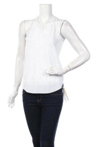 Γυναικείο αμάνικο μπλουζάκι Adidas, Μέγεθος S, Χρώμα Λευκό, 65% πολυεστέρας, 35% βαμβάκι, Τιμή 14,02€
