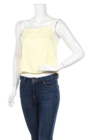 Γυναικείο αμάνικο μπλουζάκι Edited, Μέγεθος M, Χρώμα Κίτρινο, Βισκόζη, Τιμή 3,48€