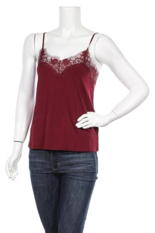 Γυναικείο αμάνικο μπλουζάκι Samsoe & Samsoe, Μέγεθος S, Χρώμα Κόκκινο, 92% χαλκαμμωνία, 8% ελαστάνη, Τιμή 14,49€