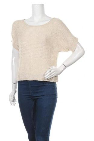 Дамски пуловер, Размер S, Цвят Бежов, Акрил, Цена 7,09лв.