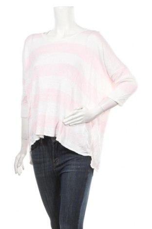 Дамски пуловер, Размер S, Цвят Бял, Лен, Цена 13,86лв.