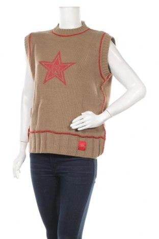 Дамски пуловер, Размер XL, Цвят Бежов, Цена 13,28лв.