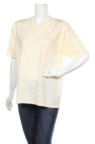 Γυναικείο πουλόβερ, Μέγεθος XL, Χρώμα Εκρού, 50%ακρυλικό, 50% βισκόζη, Τιμή 6,37€