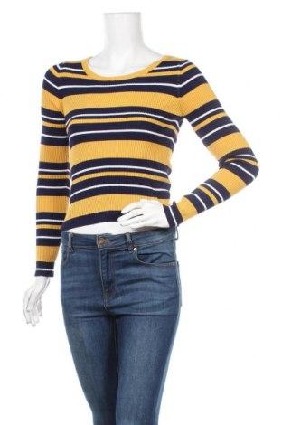 Дамски пуловер Ally, Размер S, Цвят Жълт, 80% вискоза, 20% полиестер, Цена 12,82лв.