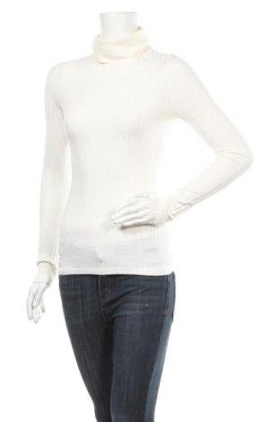 Γυναικείο πουλόβερ Ally, Μέγεθος M, Χρώμα Λευκό, 60% πολυεστέρας, 35% βισκόζη, 5% ελαστάνη, Τιμή 9,65€