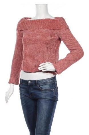 Дамски пуловер Ally, Размер S, Цвят Розов, Полиестер, Цена 11,90лв.