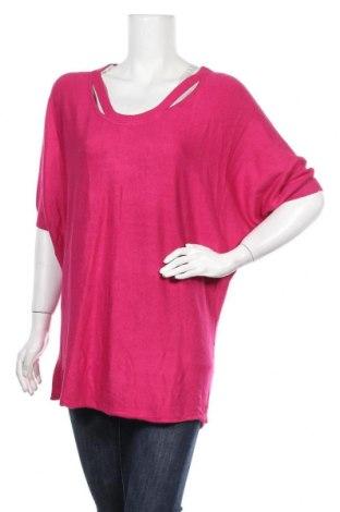 Γυναικείο πουλόβερ Ashley Brooke, Μέγεθος M, Χρώμα Ρόζ , Τιμή 16,66€