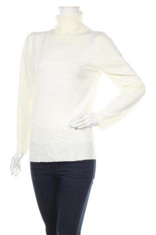 Дамски пуловер Atmosphere, Размер L, Цвят Бял, Акрил, Цена 15,70лв.