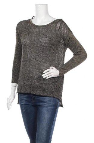 Дамски пуловер Bardot, Размер XS, Цвят Златист, 80% вискоза, 20% метални нишки, Цена 6,30лв.