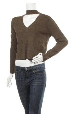 Дамски пуловер Bardot, Размер L, Цвят Зелен, 65% вискоза, 35% полиамид, Цена 12,76лв.