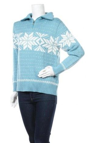 Γυναικείο πουλόβερ Blue Seven, Μέγεθος L, Χρώμα Μπλέ, 70%ακρυλικό, 30% μαλλί, Τιμή 5,68€