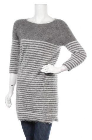 Дамски пуловер Body Flirt, Размер S, Цвят Сив, 60% полиакрил, 40% полиамид, Цена 28,35лв.