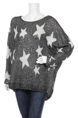 Дамски пуловер Body Flirt, Размер XXL, Цвят Черен, 70% полиестер, 30% акрил, Цена 25,20лв.