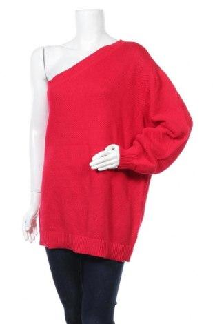 Дамски пуловер Body Flirt, Размер XL, Цвят Червен, Памук, Цена 26,25лв.