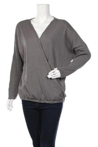 Дамски пуловер Body Flirt, Размер XL, Цвят Сив, Полиакрил, Цена 26,25лв.