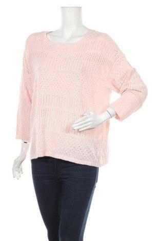 Дамски пуловер Clothing & Co, Размер XL, Цвят Розов, 55% акрил, 45% акрил, Цена 7,09лв.