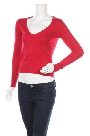 Дамски пуловер Defacto, Размер S, Цвят Червен, Акрил, Цена 15,02лв.