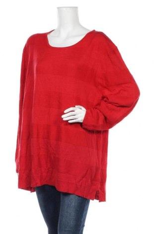Дамски пуловер Emme., Размер M, Цвят Червен, 70% акрил, 30% вълна, Цена 7,61лв.