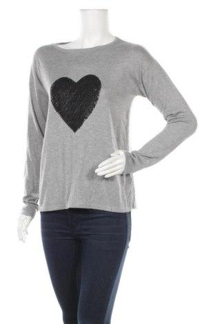 Дамски пуловер Esprit, Размер M, Цвят Сив, 65% полиестер, 35% вискоза, Цена 26,04лв.