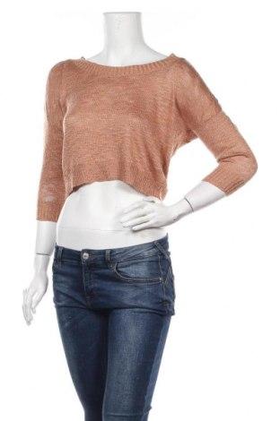 Дамски пуловер Forever 21, Размер M, Цвят Бежов, 88% акрил, 8% полиамид, 4% други тъкани, Цена 6,93лв.
