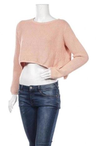 Γυναικείο πουλόβερ Ghanda, Μέγεθος M, Χρώμα Ρόζ , Βαμβάκι, Τιμή 14,19€