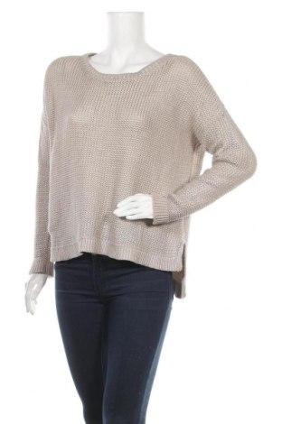 Дамски пуловер H&M, Размер L, Цвят Бежов, 60% памук, 40% акрил, Цена 16,38лв.