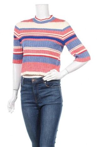 Дамски пуловер H&M, Размер XL, Цвят Многоцветен, 60% памук, 40% вискоза, Цена 17,64лв.