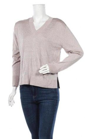Γυναικείο πουλόβερ H&M, Μέγεθος S, Χρώμα Σάπιο μήλο, 39% βισκόζη, 37%ακρυλικό, 16% πολυεστέρας, 8% μεταλλικά νήματα, Τιμή 16,05€