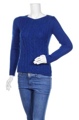 Γυναικείο πουλόβερ Hallhuber, Μέγεθος S, Χρώμα Μπλέ, 50%ακρυλικό, 25% μαλλί, 25% μαλλί από αλπακά, Τιμή 16,24€