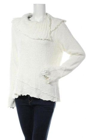Дамски пуловер Jana, Размер L, Цвят Бял, 91% акрил, 6% мохер, 3% полиамид, Цена 14,60лв.