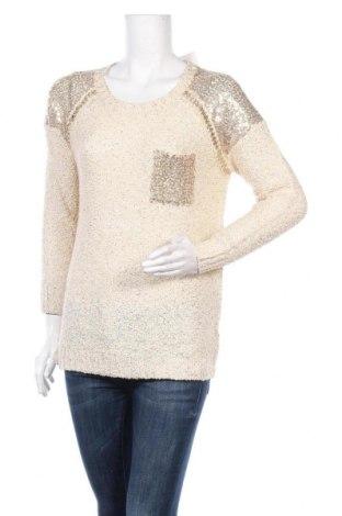 Дамски пуловер Mix Ray, Размер L, Цвят Бежов, 65% акрил, 35% полиестер, Цена 9,92лв.