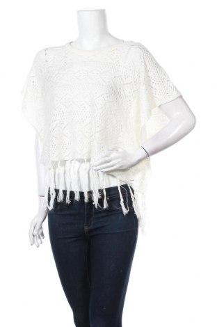 Дамски пуловер Now, Размер S, Цвят Бял, Акрил, Цена 5,80лв.