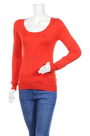 Дамски пуловер Osop, Размер S, Цвят Червен, 80% вискоза, 17% полиамид, 3% еластан, Цена 17,75лв.