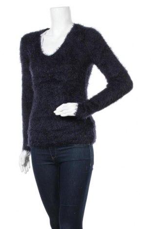 Γυναικείο πουλόβερ Oui, Μέγεθος S, Χρώμα Μπλέ, 65% πολυαμίδη, 35% πολυακρυλικό, Τιμή 10,91€