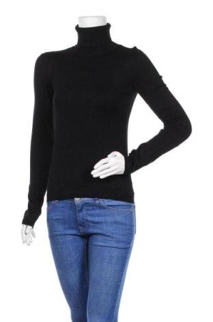 Дамски пуловер Pull&Bear, Размер L, Цвят Черен, Цена 21,00лв.