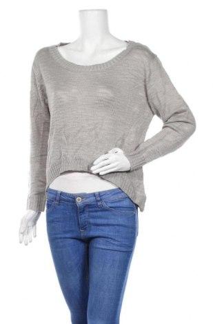 Дамски пуловер Pure Hype, Размер L, Цвят Сив, Акрил, Цена 9,98лв.
