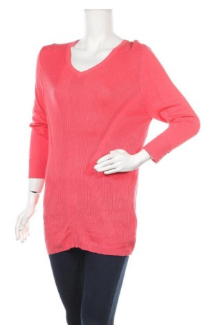 Дамски пуловер Rockmans, Размер XL, Цвят Розов, Вискоза, полиамид, Цена 13,23лв.