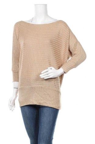 Γυναικείο πουλόβερ Ses, Μέγεθος L, Χρώμα Χρυσαφί, Τιμή 12,96€