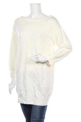 Дамски пуловер Snidel, Размер L, Цвят Бял, 90% акрил, 5% вълна, 4% полиамид, 1% полиуретан, Цена 15,12лв.