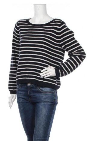 Дамски пуловер Sportscraft, Размер L, Цвят Син, Памук, Цена 33,50лв.