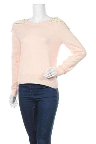 Дамски пуловер Sportsgirl, Размер M, Цвят Розов, Памук, Цена 11,60лв.