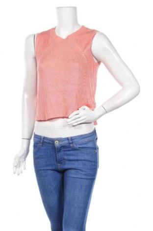Дамски пуловер Temt, Размер S, Цвят Розов, Акрил, Цена 6,62лв.